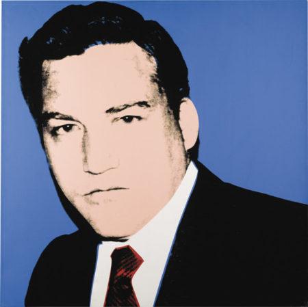 Andy Warhol-Portrait Of Conrad Black-1982