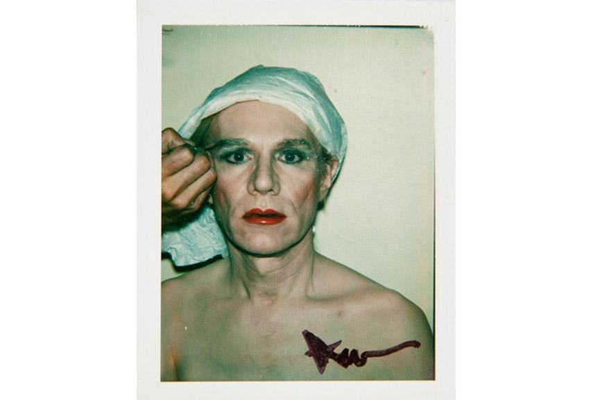Andy Warhol - Self Portrait in drag