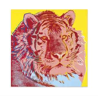 Andy Warhol-Siberian Tiger-1983