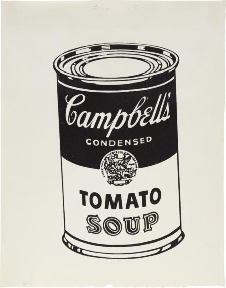 Andy Warhol-Soup Can-1978