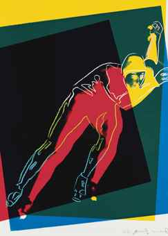 Andy Warhol-Speed Skater-1983