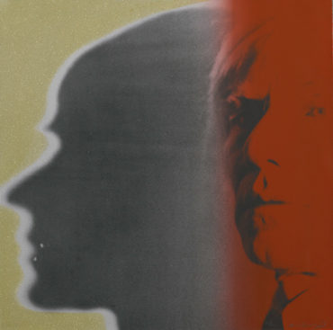 Andy Warhol-The Shadow, from Myths-1981