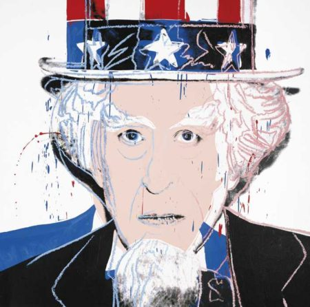 Andy Warhol-Uncle Sam (From Myths)-1981