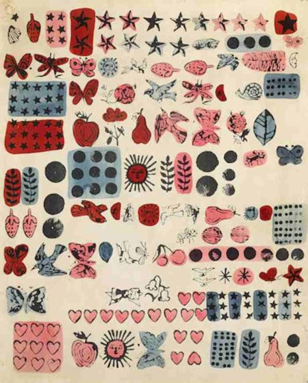 Andy Warhol-Wrapping paper-1959