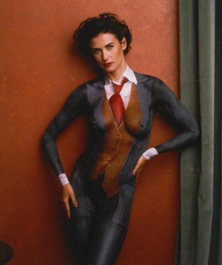 Annie Leibovitz-Demi Moore-1992