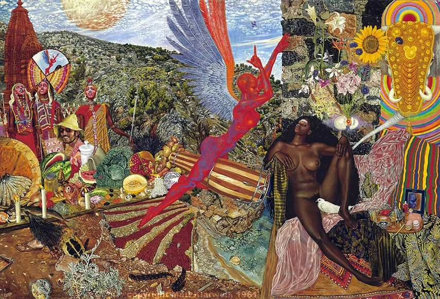 Annunciation by Mati Klarwein