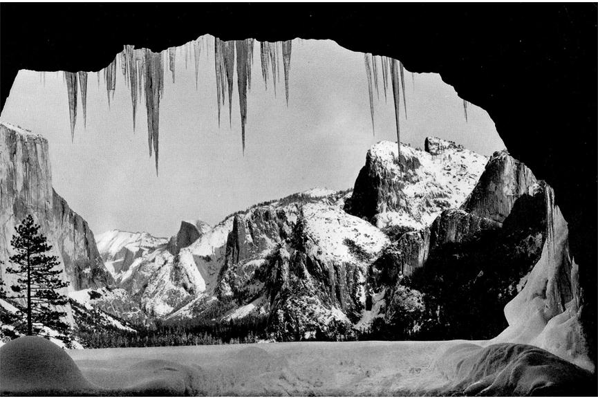 ansel adams wawona tunnel view photographer