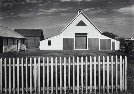Ansel Adams-Barn, Cape Cod, Massachusetts-1937