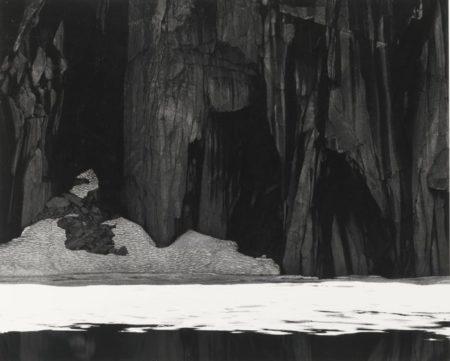 Frozen Lake And Cliffs Kaweah Gap Sequoia National Park Ca.-1932
