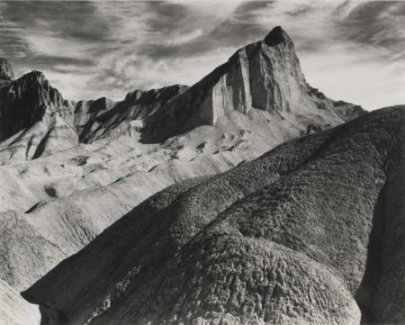 Ansel Adams-Manly Beacon Death Valley National Monument-1948