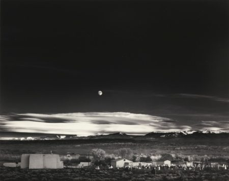 Ansel Adams-Moonrise Hernandez New Mexico-1941