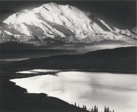 Ansel Adams-Mount Mckinley And Wonder Lake Mckinley National Park Alaska-1947