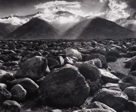 Ansel Adams-Mount Williamson, Sierra Nevada from Manzanar, California-1944
