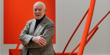 Anthony Caro, artist, photo credits - Independent, sculptor