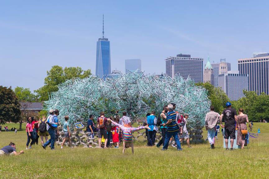 Best Public Art Installations in ny 2015