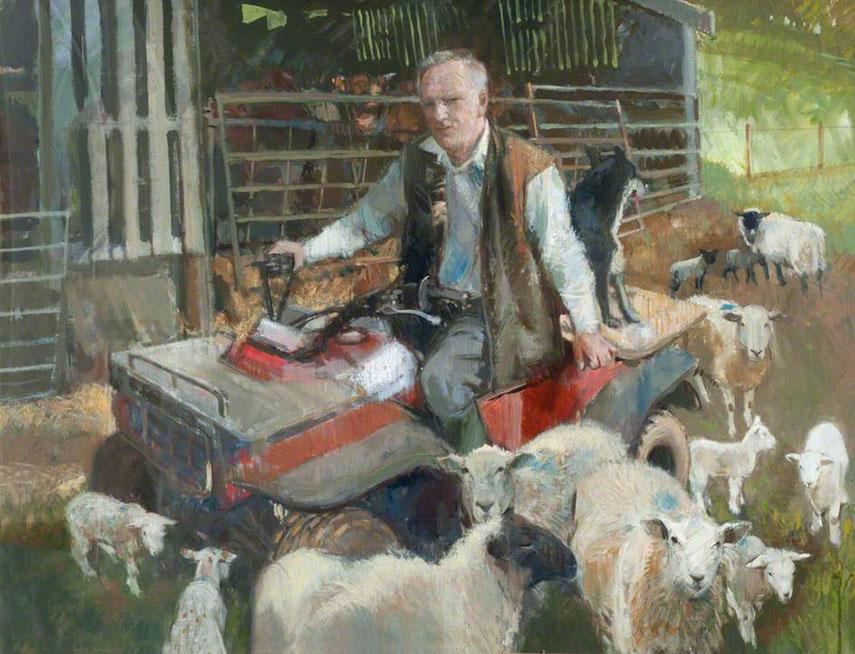 Anthony Morris - Dick Prosser, Farmer - image via artuk.org