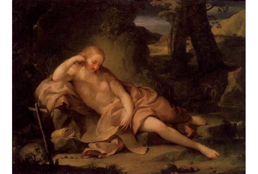 Anton Raphael Mengs - The Penitent Magdalen, 1752 - Image via pinterestcom