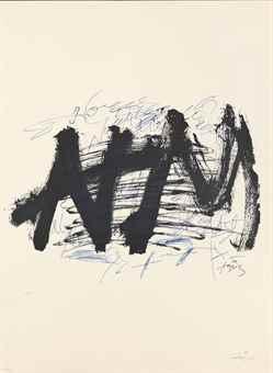 Antoni Tapies-Untitled-1970