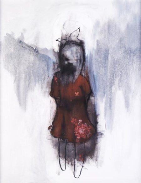 Antony Micallef-Girl In A Red Dress-2006