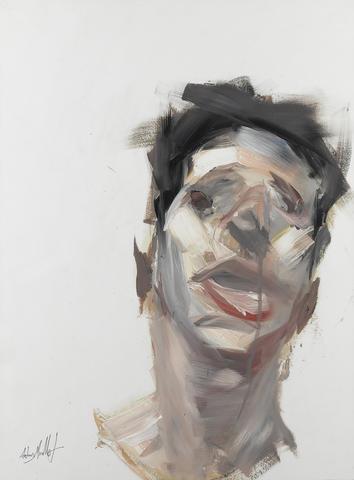 Antony Micallef-Study of Head/Portrait Study-2006