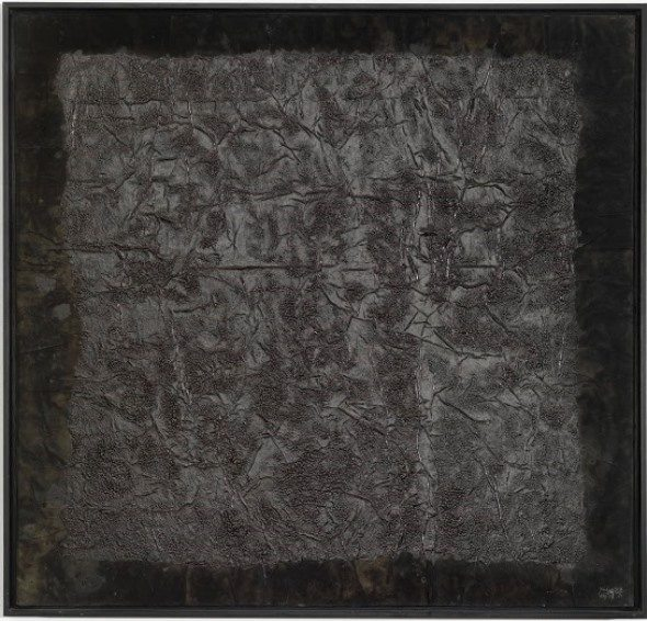 Arndt, Yang Jiechang -  100 Layers of Ink 2, 1989, Copyright for both images is The artist and ARNDT Berlin -  Singapore
