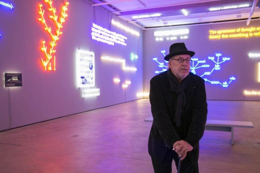 Joseph Kosuth exhibition magers london public