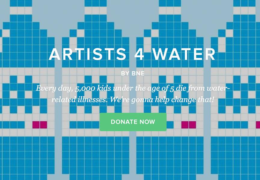 Street art charity