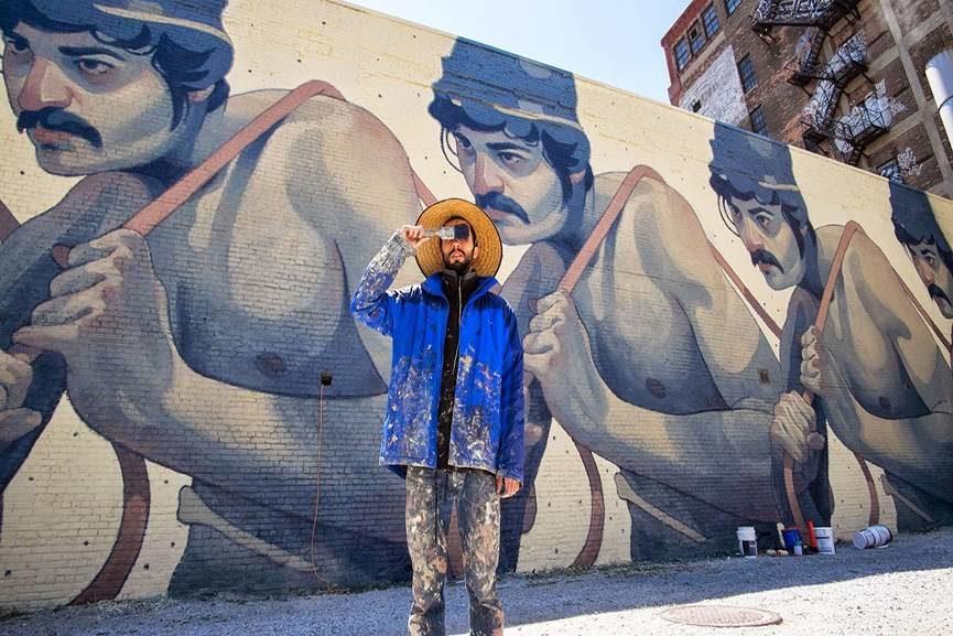 street update, street art, mural