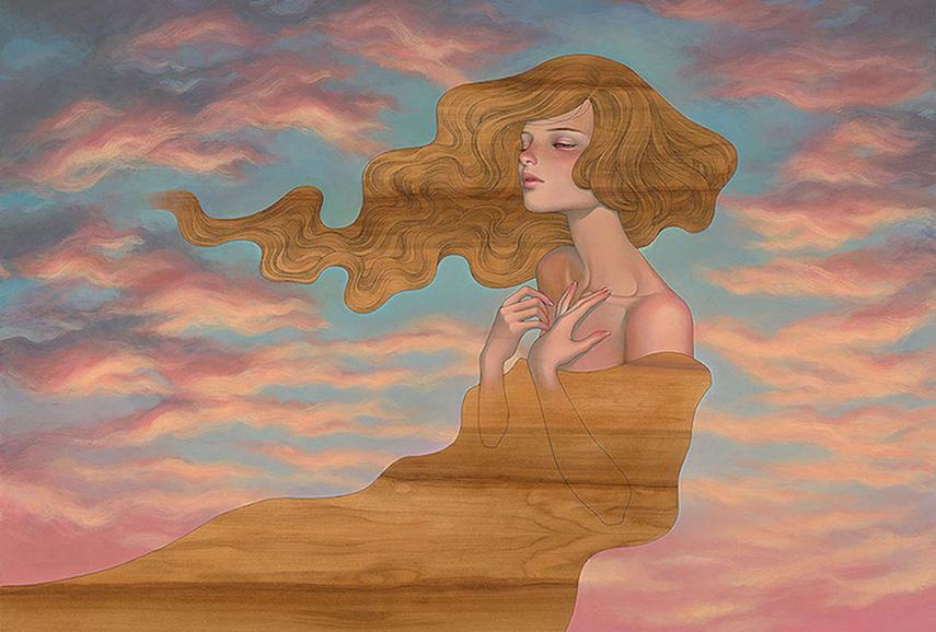 Audrey Kawasaki - As I Fall