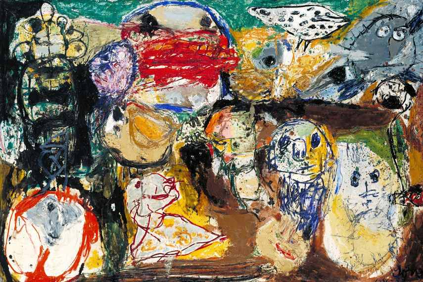 Asger Jorn - Letter to my Son and a theory of psychology - Image via tateorguk