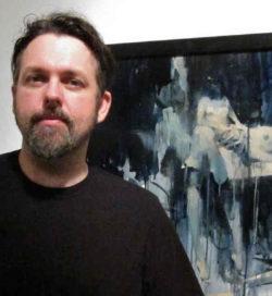 Ashley Wood at Jonathan LeVine - image via Arrested Motion
