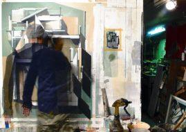 Augustine Kofie 's studio work