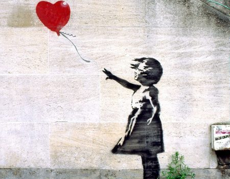 Banksy's Girl with Balloon is UK's Most Beloved Work of Art!
