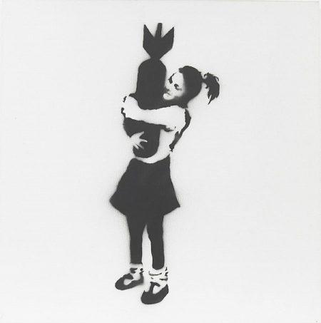 Banksy-Bomb Hugger-2002