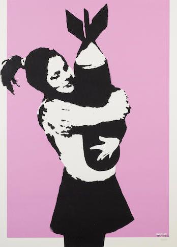 Banksy-Bomb Hugger-2004