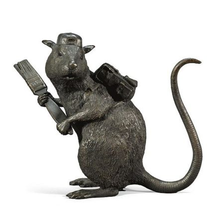 Banksy-Bronze Rat-2006
