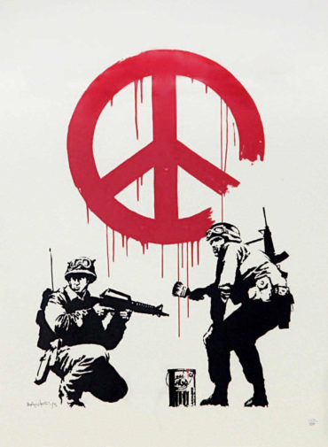 Banksy-CND Soldiers (Signed Edition)-2005