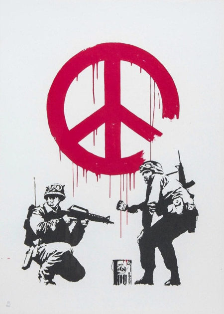 Banksy-CND Soldiers (Unsinged Edition)-2005