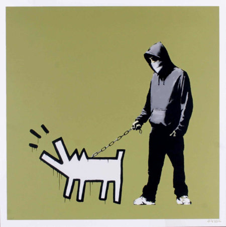 Banksy-Choose Your Weapon (Khaki)-2010
