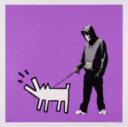Banksy-Choose Your Weapon (Bright Purple)-2010