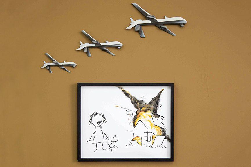 Banksy - Civilian Drone Attack