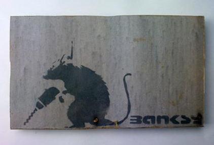 Banksy-Drill Rat-2003