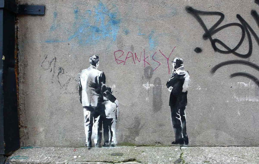 Banksy and art market street art potential within the for Banksy mural sold