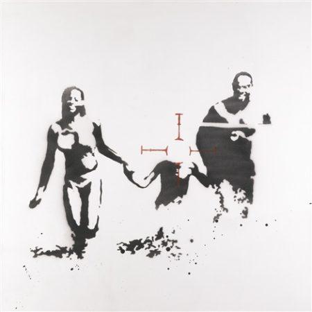 Banksy-Family Target (Family Portrait)-2003