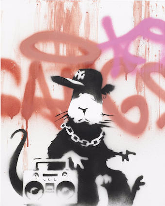 Banksy-Gangsta Rat-2006