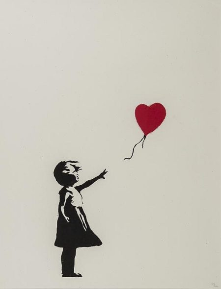 Girl and Balloon-2004