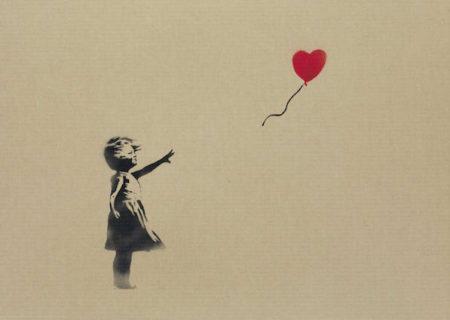 Banksy-Girl and Balloon-2009