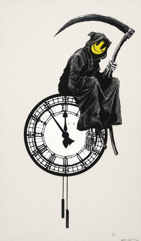 Banksy-Grin Reaper-2005