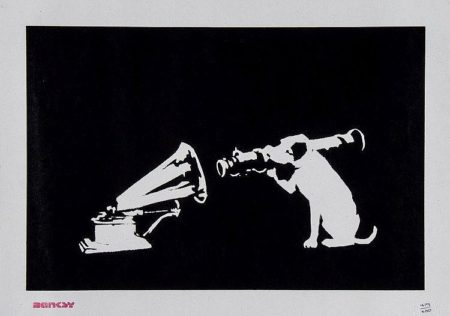 Banksy-HMV Dog-2003