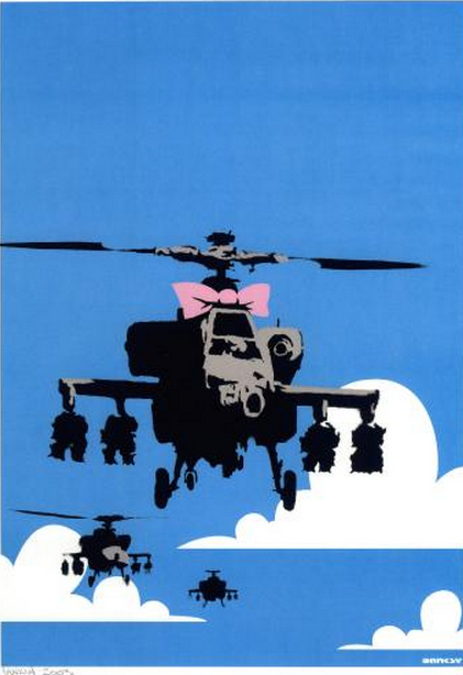 Banksy-Happy Choppers-2003
